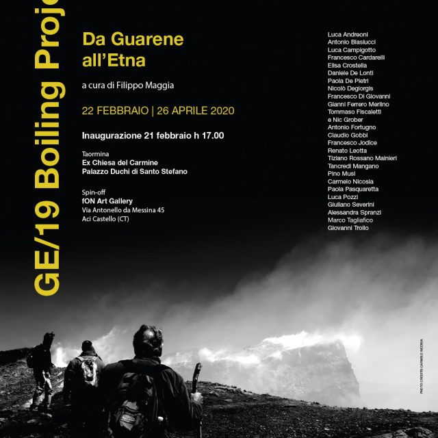Da Guarene all'Etna 2019- Boiling Projects