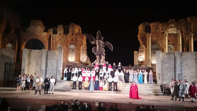 August  16 and 21 – CARMEN – Taormina Opera Stars